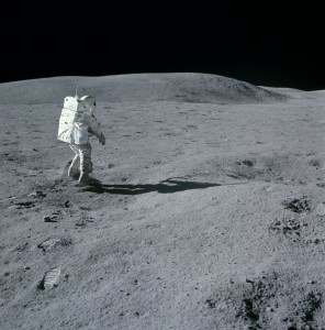 Apollo 16's Charlie Duke on the Moon