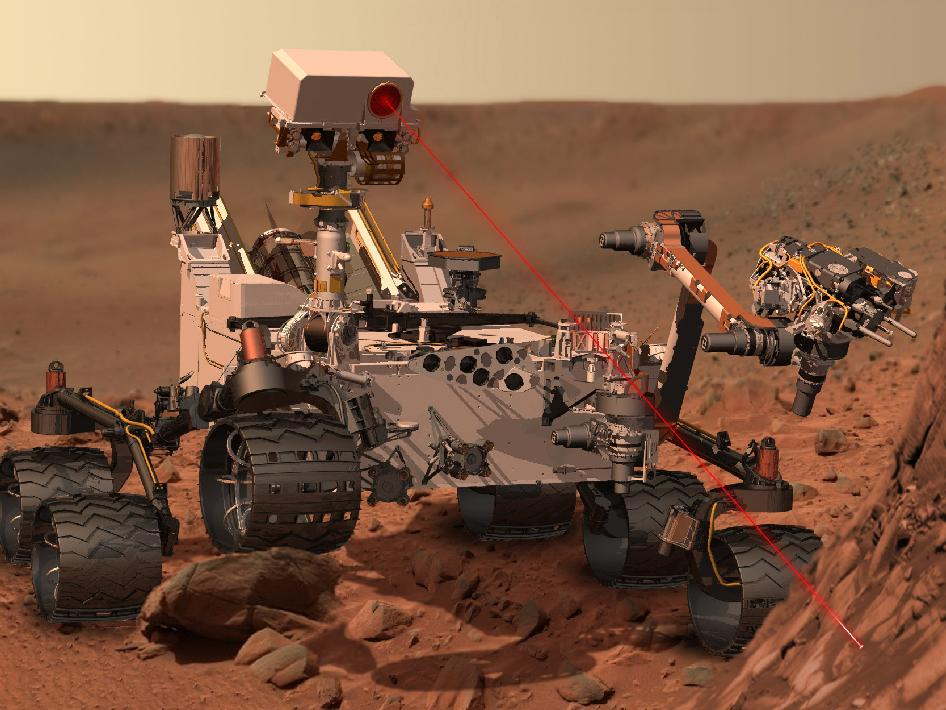 MSL doing science!