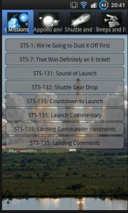 Space Sounds App