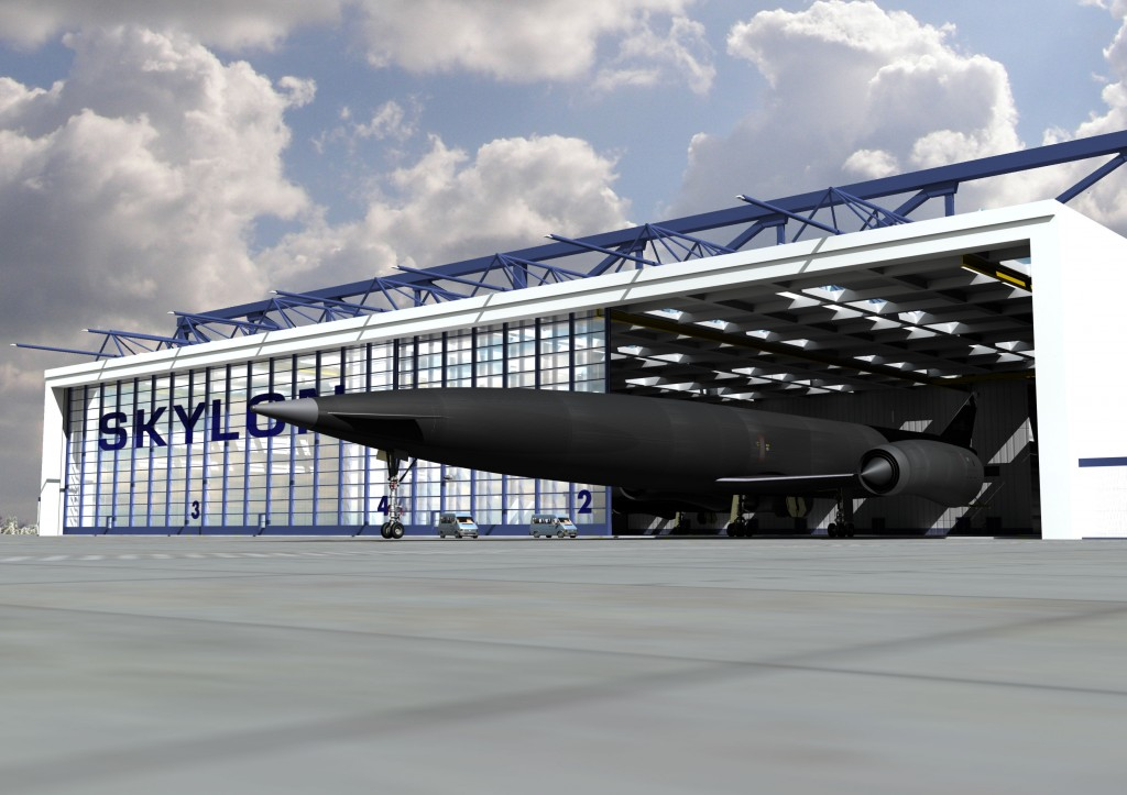 Skylon in a hangar - the future?