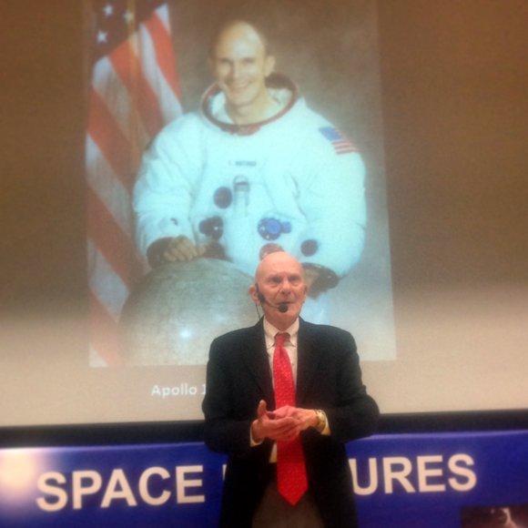 Apollo 16's Ken Mattingly