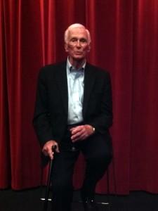 Gene Cernan at crew screening of Last Man on the Moon