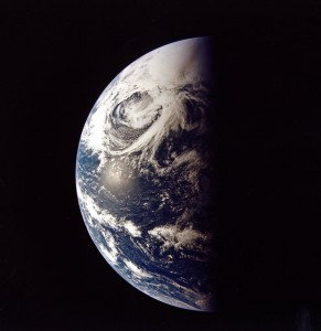 Earth as seen from Apollo 13. Credit: NASA