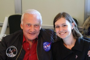 Buzz Aldrin and Kate Arkless Gray