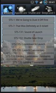 Space Sounds App