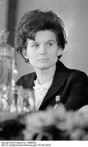valentina Tereshkova, first woman in space, 1963 June 16th