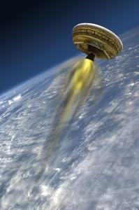 Artist's concept of LDSD Credit: NASA JPL/Caltech