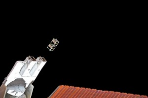 Deploying satellites from the ISS