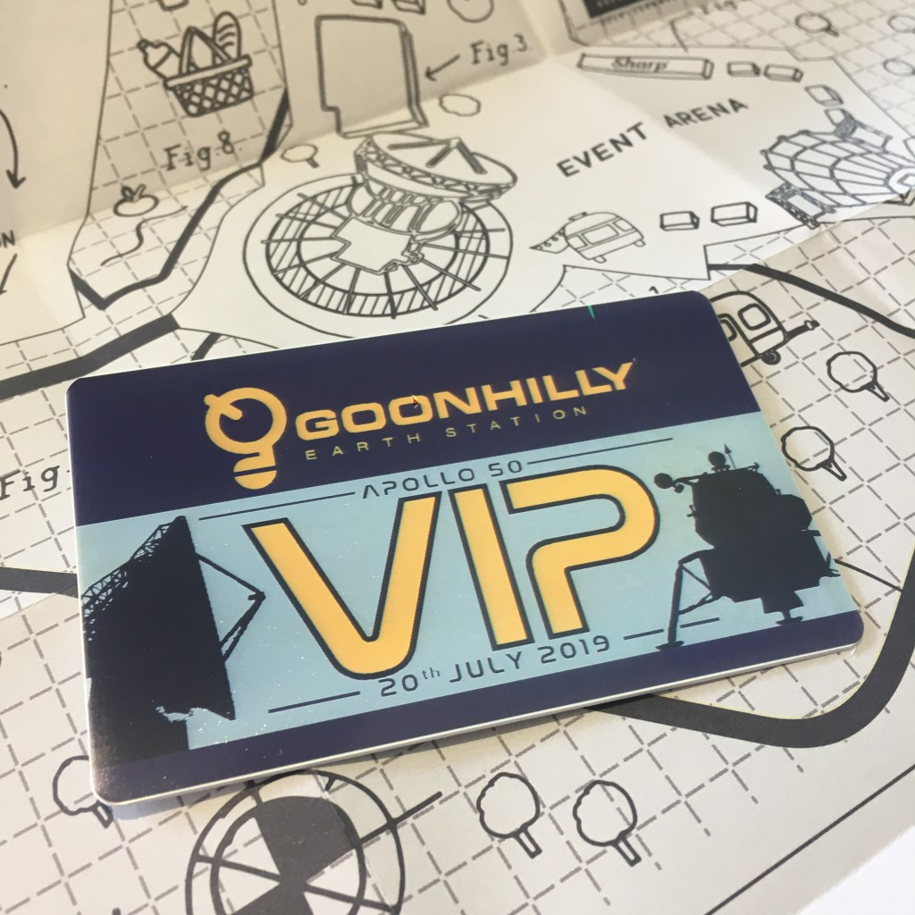 Goonhilly Earth Station Apollo50 VIP pass