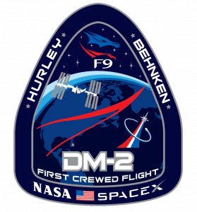DM2 mission patch