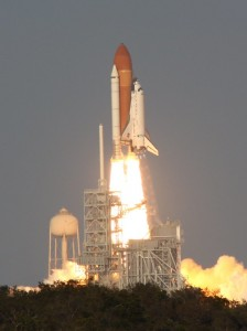 Launch of STS-133 - space shuttle Discovery's final flight